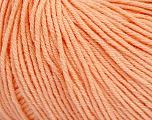 Fiber Content 60% Cotton, 40% Acrylic, Light Salmon, Brand Ice Yarns, Yarn Thickness 2 Fine  Sport, Baby, fnt2-51515