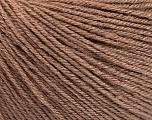 Fiber Content 40% Acrylic, 40% Merino Wool, 20% Polyamide, Brand ICE, Camel, Yarn Thickness 2 Fine  Sport, Baby, fnt2-51542
