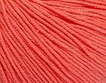 Fiber Content 60% Cotton, 40% Acrylic, Salmon, Brand Ice Yarns, Yarn Thickness 2 Fine  Sport, Baby, fnt2-51561