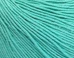 Fiber Content 60% Cotton, 40% Acrylic, Mint Green, Brand Ice Yarns, Yarn Thickness 2 Fine  Sport, Baby, fnt2-51566