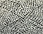 Fiber Content 100% Cotton, Light Grey Melange, Brand Ice Yarns, Yarn Thickness 2 Fine  Sport, Baby, fnt2-51569