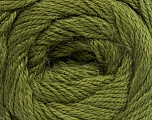 Fiber Content 45% Alpaca, 30% Polyamide, 25% Wool, Brand ICE, Green, Yarn Thickness 2 Fine  Sport, Baby, fnt2-51593