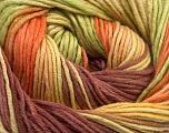 Fiber Content 100% Cotton, Yellow, Rose Brown, Orange, Brand Ice Yarns, Green, Yarn Thickness 2 Fine  Sport, Baby, fnt2-51639