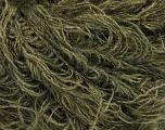 Fiber Content 6% Polyamide, 46% Acrylic, 29% Wool, 19% Viscose, Brand Ice Yarns, Dark Khaki, fnt2-51642