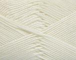 Fiber Content 50% Acrylic, 50% Bamboo, White, Brand ICE, Yarn Thickness 2 Fine  Sport, Baby, fnt2-51648