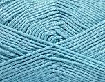 Fiber Content 50% Acrylic, 50% Bamboo, Light Blue, Brand ICE, Yarn Thickness 2 Fine  Sport, Baby, fnt2-51659