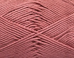 Fiber Content 50% Acrylic, 50% Bamboo, Rose Pink, Brand ICE, Yarn Thickness 2 Fine  Sport, Baby, fnt2-51668