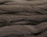 Fiber Content 100% Superwash Wool, Brand Ice Yarns, Dark Brown, Yarn Thickness 6 SuperBulky  Bulky, Roving, fnt2-51673