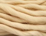 Fiber Content 100% Superwash Wool, Brand Ice Yarns, Cream, Yarn Thickness 6 SuperBulky  Bulky, Roving, fnt2-51676