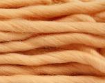 Fiber Content 100% Superwash Wool, Light Salmon, Brand Ice Yarns, Yarn Thickness 6 SuperBulky  Bulky, Roving, fnt2-51679
