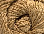 Fiber Content 45% Alpaca, 30% Polyamide, 25% Wool, Light Brown, Brand ICE, Yarn Thickness 3 Light  DK, Light, Worsted, fnt2-51732