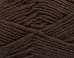 Fiber Content 100% Wool, Brand Ice Yarns, Dark Brown, Yarn Thickness 5 Bulky  Chunky, Craft, Rug, fnt2-51914