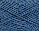 Fiber Content 100% Wool, Smoke Blue, Brand Ice Yarns, Yarn Thickness 5 Bulky  Chunky, Craft, Rug, fnt2-51921