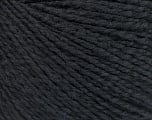 Conţinut de fibre 68% Bumbac, 32% Mătase, Brand Ice Yarns, Black, Yarn Thickness 2 Fine  Sport, Baby, fnt2-51923