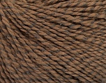 Fiber Content 68% Cotton, 32% Silk, Brand Ice Yarns, Brown, Yarn Thickness 2 Fine  Sport, Baby, fnt2-51926