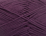 Baby cotton is a 100% premium giza cotton yarn exclusively made as a baby yarn. It is anti-bacterial and machine washable! Fiber Content 100% Giza Cotton, Purple, Brand Ice Yarns, Yarn Thickness 3 Light  DK, Light, Worsted, fnt2-51954