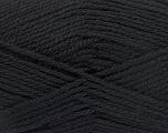 Fiber Content 50% Acrylic, 30% Wool, 20% Polyamide, Brand ICE, Black, Yarn Thickness 2 Fine  Sport, Baby, fnt2-52042