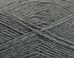 Fiber Content 50% Acrylic, 30% Wool, 20% Polyamide, Brand ICE, Grey, Yarn Thickness 2 Fine  Sport, Baby, fnt2-52043