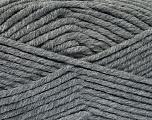 Fiber Content 80% Acrylic, 20% Polyamide, Brand Ice Yarns, Dark Grey, Yarn Thickness 5 Bulky  Chunky, Craft, Rug, fnt2-52051