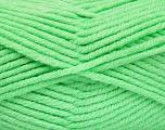 Fiber Content 80% Acrylic, 20% Polyamide, Neon Green, Brand Ice Yarns, Yarn Thickness 5 Bulky  Chunky, Craft, Rug, fnt2-52053