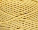 Fiber Content 80% Acrylic, 20% Polyamide, Yellow, Brand Ice Yarns, Yarn Thickness 5 Bulky  Chunky, Craft, Rug, fnt2-52054