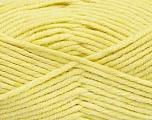Fiber Content 80% Acrylic, 20% Polyamide, Light Yellow, Brand Ice Yarns, Yarn Thickness 5 Bulky  Chunky, Craft, Rug, fnt2-52055
