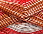 Fiber Content 100% Antipilling Acrylic, White, Red, Brand Ice Yarns, Brown, Baby Blue, Yarn Thickness 4 Medium  Worsted, Afghan, Aran, fnt2-52062