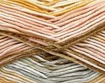Fiber Content 100% Antipilling Acrylic, White, Powder, Light Grey, Brand Ice Yarns, Gold, Yarn Thickness 4 Medium  Worsted, Afghan, Aran, fnt2-52066