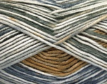 Fiber Content 100% Antipilling Acrylic, White, Jeans Blue, Brand Ice Yarns, Grey Shades, Brown, Yarn Thickness 4 Medium  Worsted, Afghan, Aran, fnt2-52067