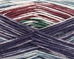 Fiber Content 100% Antipilling Acrylic, White, Purple, Maroon, Brand Ice Yarns, Green, Blue, Yarn Thickness 4 Medium  Worsted, Afghan, Aran, fnt2-52068