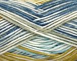 Fiber Content 100% Antipilling Acrylic, White, Olive Light Green, Brand Ice Yarns, Grey, Blue Shades, Yarn Thickness 4 Medium  Worsted, Afghan, Aran, fnt2-52069