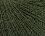 Fiberinnhold 60% Akryl, 40% Ull, Brand Ice Yarns, Dark Green, fnt2-52107