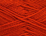 Bulky  Fiber Content 100% Acrylic, Brand Ice Yarns, Dark Orange, Yarn Thickness 5 Bulky  Chunky, Craft, Rug, fnt2-52122
