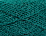 Fiber Content 50% Acrylic, 25% Alpaca, 25% Wool, Teal, Brand Ice Yarns, Yarn Thickness 5 Bulky  Chunky, Craft, Rug, fnt2-52131