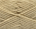 Fiber Content 50% Acrylic, 25% Wool, 25% Alpaca, Brand ICE, Beige, Yarn Thickness 5 Bulky  Chunky, Craft, Rug, fnt2-52132