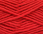 Fiber Content 100% Wool, Tomato Red, Brand Ice Yarns, Yarn Thickness 5 Bulky  Chunky, Craft, Rug, fnt2-52152