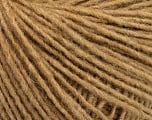Fiber Content 50% Acrylic, 50% Wool, Light Brown, Brand Ice Yarns, Yarn Thickness 3 Light  DK, Light, Worsted, fnt2-52177