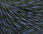 Fiberinnhold 50% Merino Ull, 25% Alpakka, 25% Akryl, Lavender, Brand Ice Yarns, Dark Green, fnt2-52216
