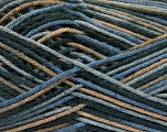 Planned Pooling The yarn is suitable for planned pooling Conţinut de fibre 100% Antipilling Acrylic, Brand Ice Yarns, Grey Shades, Brown, Black, Yarn Thickness 4 Medium  Worsted, Afghan, Aran, fnt2-52241