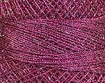 Fiber Content 70% Polyester, 30% Metallic Lurex, Brand YarnArt, Silver, Orchid, Yarn Thickness 0 Lace  Fingering Crochet Thread, fnt2-52256