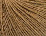 Fiber Content 50% Acrylic, 50% Wool, Light Brown, Brand Ice Yarns, Yarn Thickness 3 Light  DK, Light, Worsted, fnt2-52307