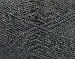 Fiber Content 100% Acrylic, Brand Ice Yarns, Dark Grey, Yarn Thickness 2 Fine  Sport, Baby, fnt2-52357
