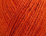 Fiber Content 100% Hemp Yarn, Orange, Brand Ice Yarns, Yarn Thickness 3 Light  DK, Light, Worsted, fnt2-52360