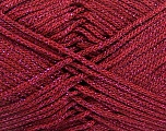 Width is 3 mm Fiber Content 100% Polyester, Brand ICE, Burgundy, fnt2-52363