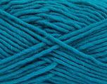 Fiber Content 100% Wool, Teal, Brand Ice Yarns, Yarn Thickness 5 Bulky  Chunky, Craft, Rug, fnt2-52401