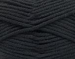 Fiber Content 80% Acrylic, 20% Polyamide, Brand Ice Yarns, Black, Yarn Thickness 5 Bulky  Chunky, Craft, Rug, fnt2-52548