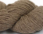 Yarn is hand sheered and all natural undyed wool. Conţinut de fibre 100% Natural Undyed Wool, Brand Ice Yarns, Camel, Yarn Thickness 4 Medium  Worsted, Afghan, Aran, fnt2-52596