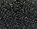 Fiber Content 70% Acrylic, 30% Wool, Brand Ice Yarns, Anthracite Black, Yarn Thickness 4 Medium  Worsted, Afghan, Aran, fnt2-52602
