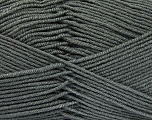 Fiber Content 70% Acrylic, 30% Wool, Brand ICE, Dark Grey, Yarn Thickness 4 Medium  Worsted, Afghan, Aran, fnt2-52603