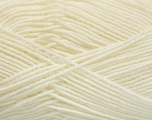 Fiber Content 70% Acrylic, 30% Wool, Off White, Brand Ice Yarns, Yarn Thickness 4 Medium  Worsted, Afghan, Aran, fnt2-52607